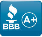 Checkout our BBB A+ rating online